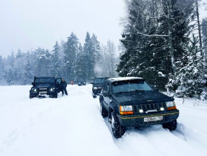 Суздальский джип-рейд с клубом «4Х4» 16-17 февраля